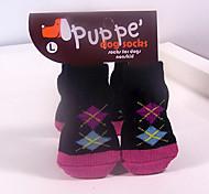 Baumwollsocken Pet Anti-Rutsch-Socken für Hunde und Katzen Haustiere