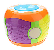 Colorful Drum Toy with Music & LED