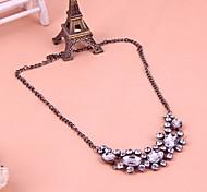Épars strass brillant robe courte collier bijoux accessoires chaîne de vêtements féminins magnifique N1055