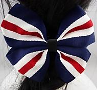 Fashion Beautiful Blue Bowknot Hairpins for Women.