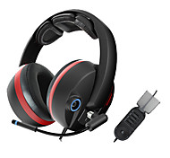 G989 Somic Stereo Gaming USB 5.1 audio Canale cuffie over-ear con microfono e telecomando per il PC