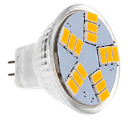 Focos LED MR11 5W 15 SMD 5630 450 LM Blanco Cálido DC 12 V