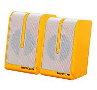 SENIC SN-467 Tragbarer Fashional Mini-Lautsprecher für Laptops / PC (1 Paar) (Optional Farben)
