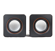 SENIC SN-430 Portable Mini Stereo Speaker For Laptops/PC  (1 Pair)