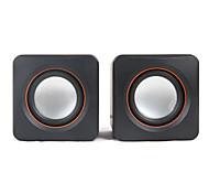 SENIC SN-430 Tragbarer Mini-Stereo-Lautsprecher für Laptops / PC (1 Paar)