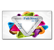 200pcs Personalized 2 Sides Printed Matte Film Artistically Pattern Business Card