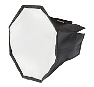 Octangle Folding Speedlight Flash Soft Box (Black+Silver, M-Size)