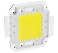 DIY 80W 6350-6400lm 2400mA 6000-6500K Cool White Luz Módulo LED integrado (30-36V)