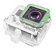 GoPro Aluminum LANYARD RING Mount & Screwdriver For Hero 3  Green