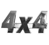 Metal 4x4 Sticker