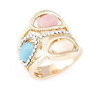 Korea Style Fashion OL Opal Statement Ring