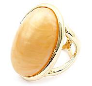Europäische und amerikanische Art-elegantes Temperament Gold Edelstein-Ring