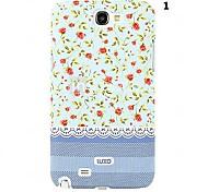 Para Samsung Galaxy Note Diseños Funda Cubierta Trasera Funda Flor Policarbonato Samsung Note 2