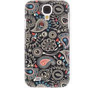 Black Spray Painting Pattern Plastic Hard Back Case Cover for Samsung Galaxy S4 I9500