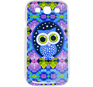 Colorful Owl Pattern Back Case for Samsung S3 i9300
