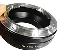 EMOLUX Konica AR Lente para Sony NEX-3 NEX-5 Anillo adaptador NEX-VG10 E Mount NEX-5N NEX-7