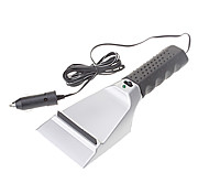 Electric Heated Ice Scraper with Cigarette Lighter Plug for Cars