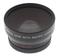Широкоугольный конверсионный макро HD объектив для Canon EOS Rebel, 52 мм, 0.45x