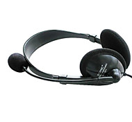 DANYIN DT-301N Stereo Over-Ear fone de ouvido com microfone e remoto para PC / iPhone / iPad / Samsung / iPod