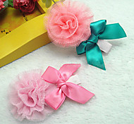 Girls Hair Accessories Clips & Claws Chiffon/Others