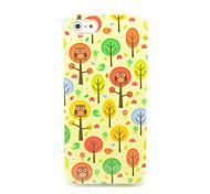 Прекрасные Совы по образцу Tree IMD Ремесло ТПУ чехол для iPhone 5/5S