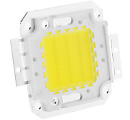 DIY 30W 2350-2400LM 900mA 6000-6500K Cool White Luz Módulo LED integrado (30-36V)