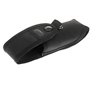 Housse de protection avec batterie poche latérale pour C8 lampe de poche (noir)
