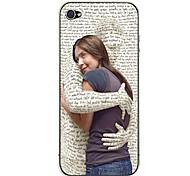 Abrazo Pegatina cuerpo para el iPhone 4