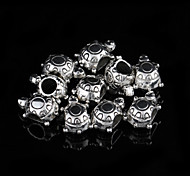 Sweet Animal Silver Alloy Charms 20 Pcs/Bag (Silver)