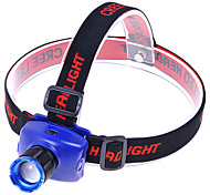 Kx-568 Cree Xr-E Q5 290Lm 3-Mode Neutral White Zooming Headlamp - Black + Blue (3 X Aaa)