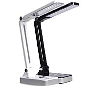 30-LED White Light LED Solar Light Rechargeable Fold Eyeshield Reading Table Desk Lamp (110-220V)