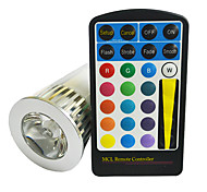 GU10 5 W 5 260 LM RGB Remote-Controlled Spot Lights AC 85-265 V