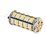 5W G4 Bombillas LED de Mazorca T 66 SMD 3020 380 lm Blanco Cálido DC 12 V