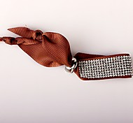 The Eight Rows Diamond Brown Bracelet