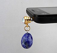 Fashion Blue Dust Plug For Anything Phone