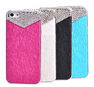 Joyland zircone Ornament Fur superficie posteriore Case for iPhone 5/5S (colori assortiti)