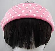 Fashion Fabric Peach Pink Headbands For Women