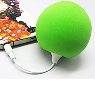 Audio Jack 3.5mm Mini Globo altavoz estéreo portátil (colores surtidos)