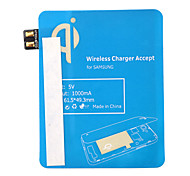 Blue Qi Standard Wireless Charging Receiver Pad For Samsung Note2 N7100