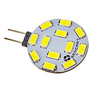 Focos LED G4 5W 12 SMD 5730 300-320 LM Blanco Fresco V