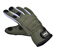 New Type Promend Waterproof Wearable Keep Warm Canvas Fishing Glove