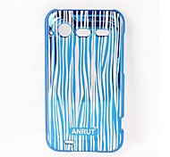 Stripe Pattern Plastic Case for HTC Incredible S / S710E / G11