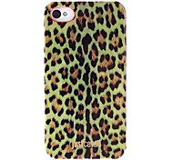 Stylish Yellow Leopard Print Pattern Smooth Anti-shock Case for iPhone 4/4S