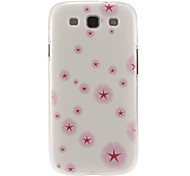 Pink Dandelion Pattern Plastic Protective Hard Back Case Cover for Samsung Galaxy S3 I9300