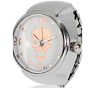 Women's Skull Pattern Alloy Quartz Analog Ring Watch (Assorted Colors) Fashion Watch