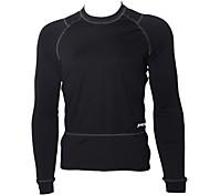 JAGGAD - Cycling Windproof Fleece Long Sleeve Black Bicycle/Bike Jersey