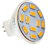 G4 4.5 W 12 SMD 5730 300-320 LM Warm wit MR11 Spotjes V