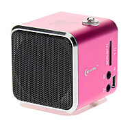 Digital Speaker with SD,TF,USB,FM Supported(Pink, Blue)