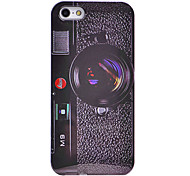 Cool M9 Camera Pattern ABS Back Case for iPhone 5/5S