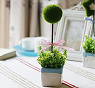 Polyester Plants Artificial Flowers